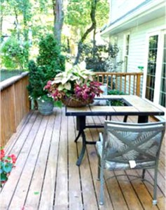 Outdoor Wood Floor Coverings