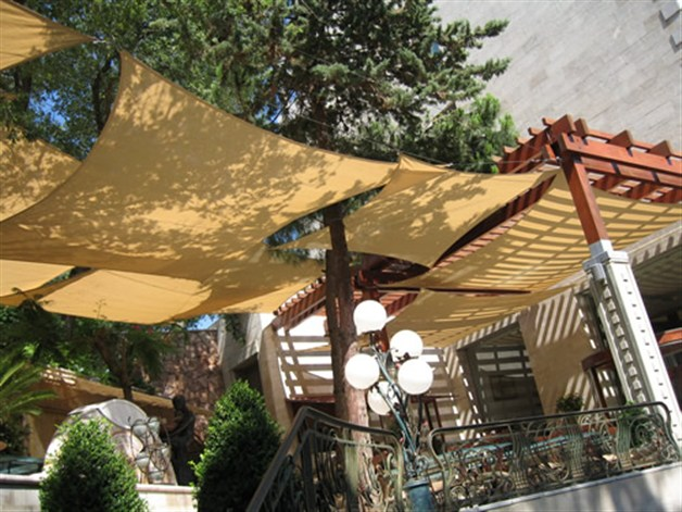 Tension & Shade sails