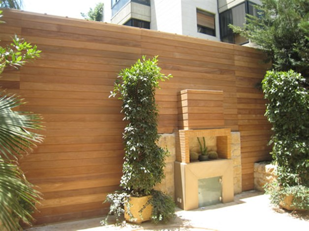 Belmark products outdoor wood panels for Outdoor wall coverings garden