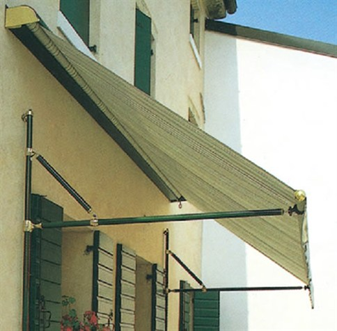 Drop Arm Window Awnings